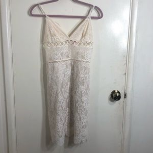 Victoria's Secret Lace Mini Dress
